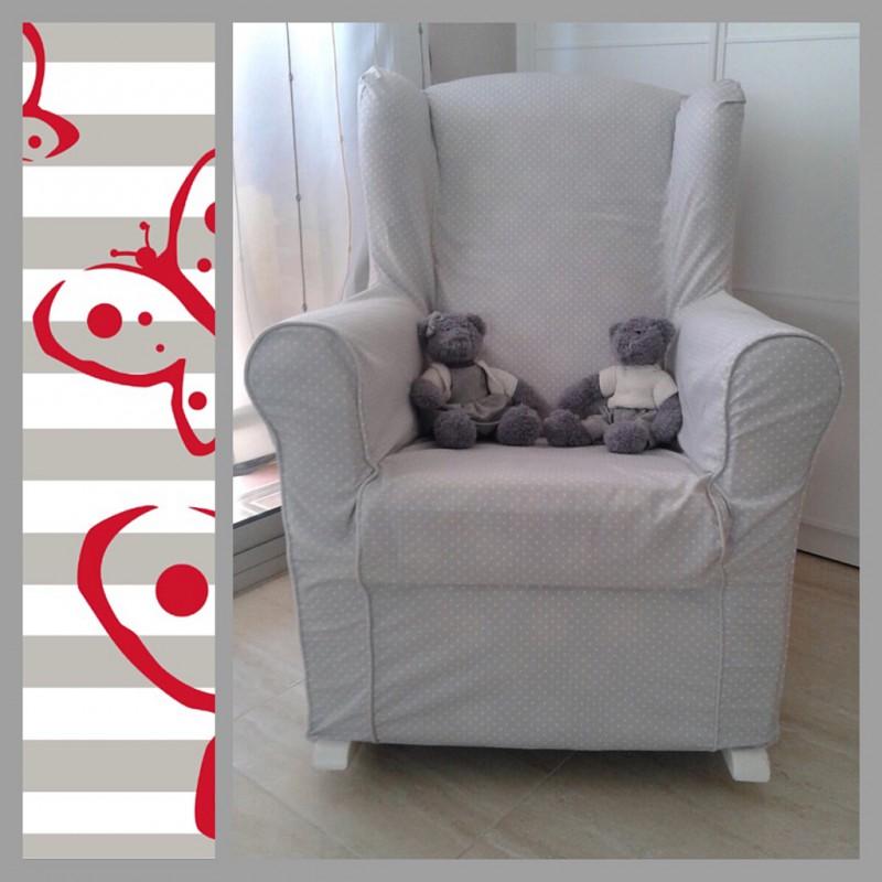 Funda sill n mecedora de lactancia minipapillon todo lo que necesitas para tu bebe - Sofa mecedora ...